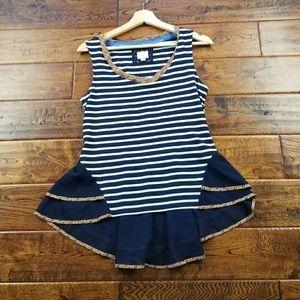 <antgropologie>  9-h15 stcl blouse
